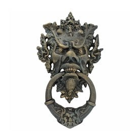 Design Toscano Vecchio Greenman 15 In Entry Door Knocker