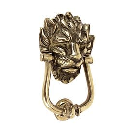 Design Toscano 10 Downing Street Lion 8.5 In Entry Door Knocker