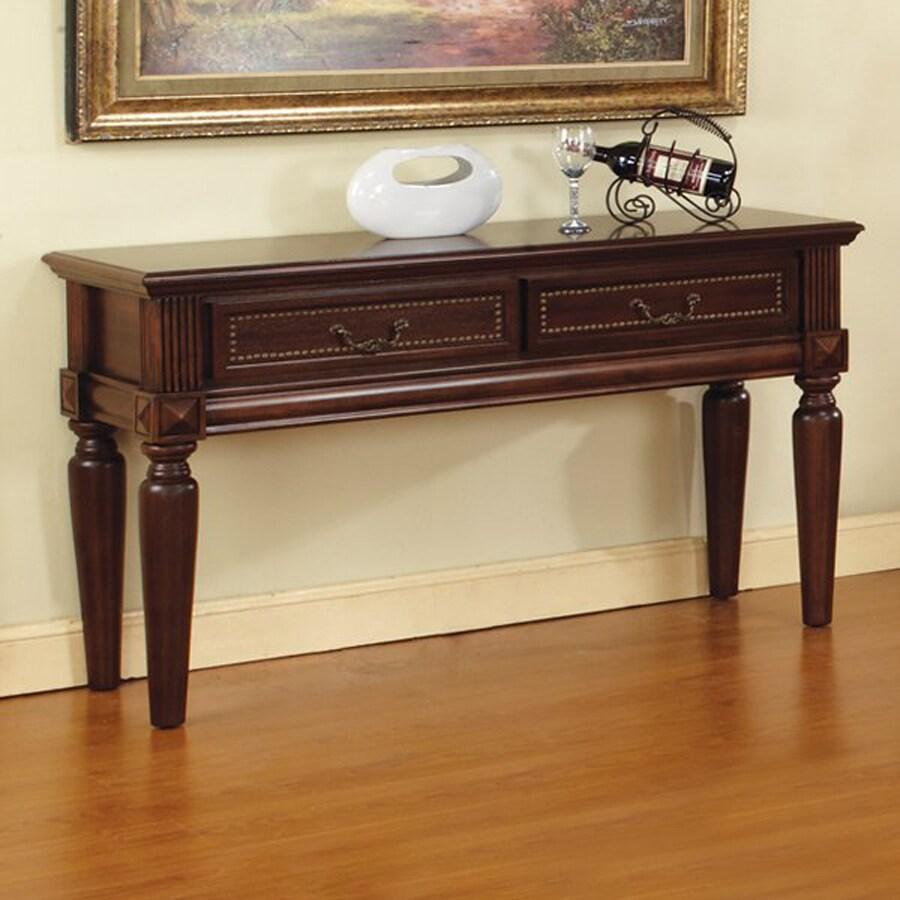 Steve Silver Company Davina Warm Cherry Rectangular Sofa Table
