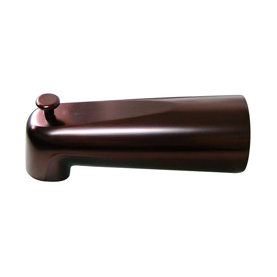 Elements of Design Oil-Rubbed Bronze Bathtub Spout with Diverter