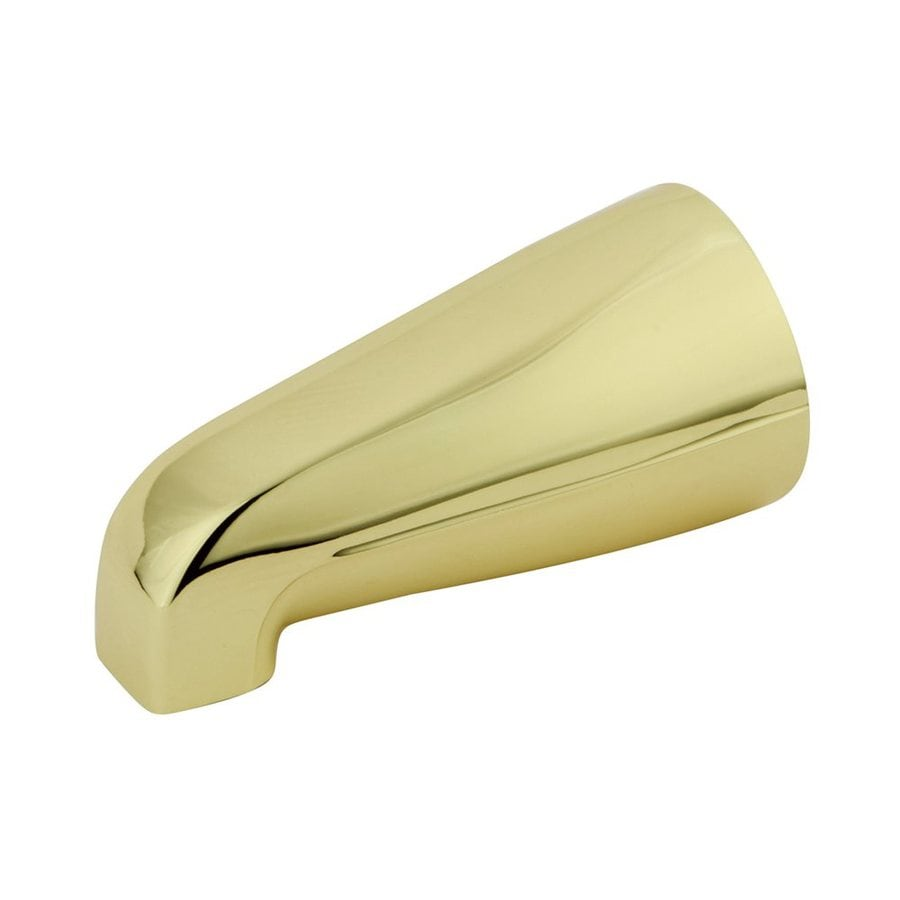 Elements of Design Polished Brass Bathtub Spout