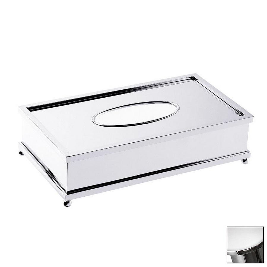 WS Bath Collections Complements Polished Chrome Tissue Holder