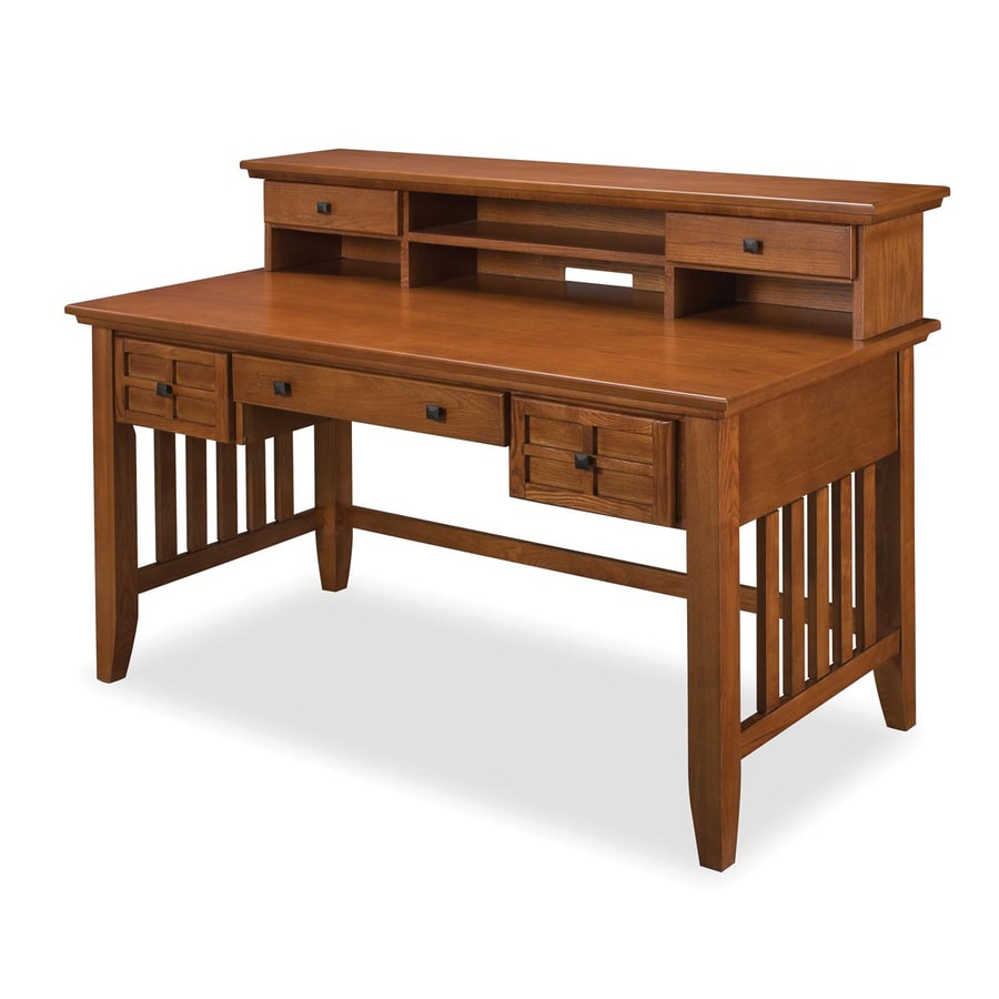 Home Styles Arts And Crafts Transitional Executive Desk