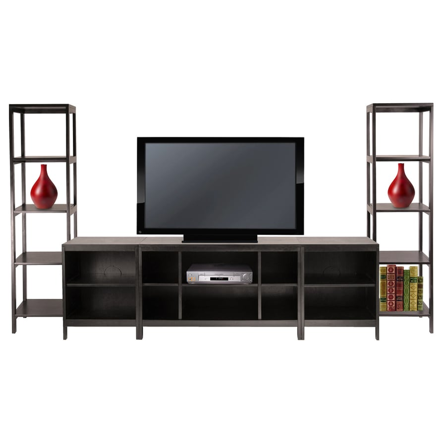 Winsome Wood Hailey Dark Espresso Rectangular TV Cabinet