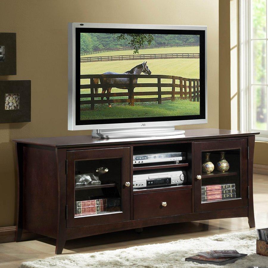 Homelegance Borgeois Espresso Rectangular TV Cabinet