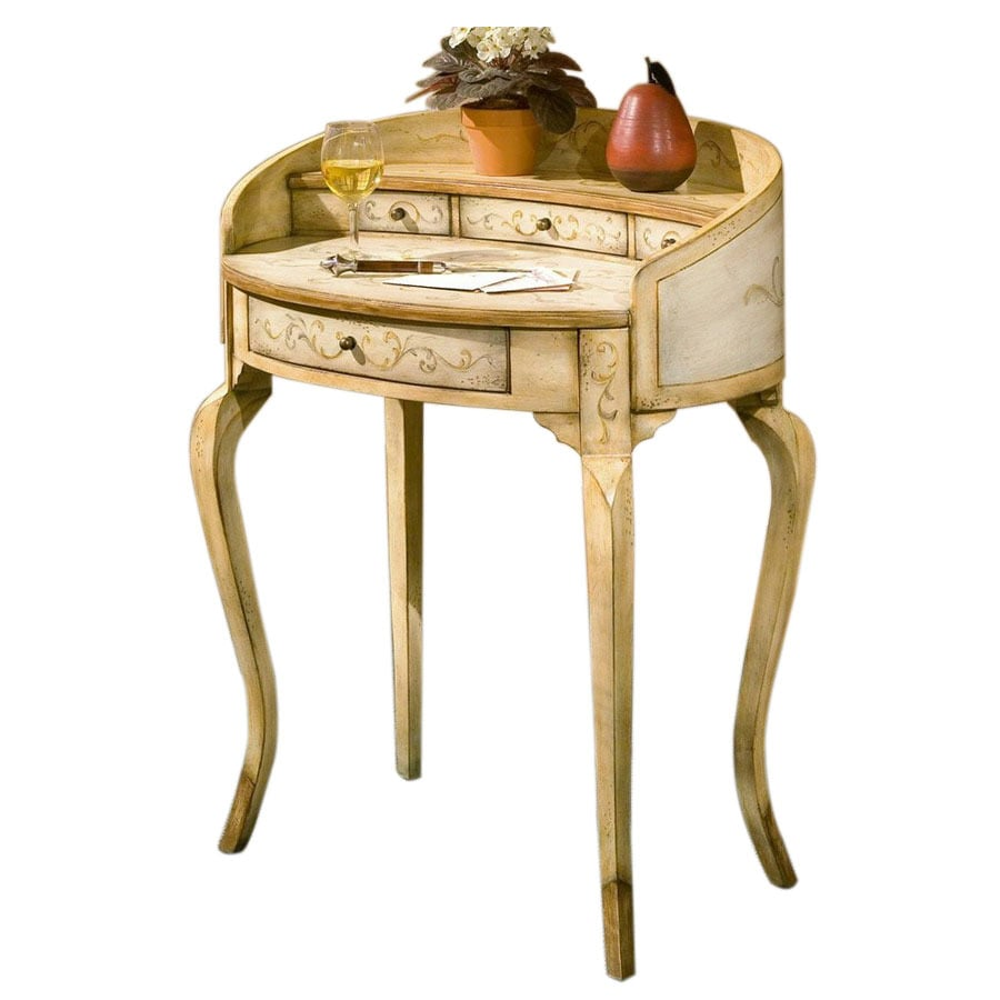 Butler Specialty Las Tuscan Cream Hand Painted Writing Desk