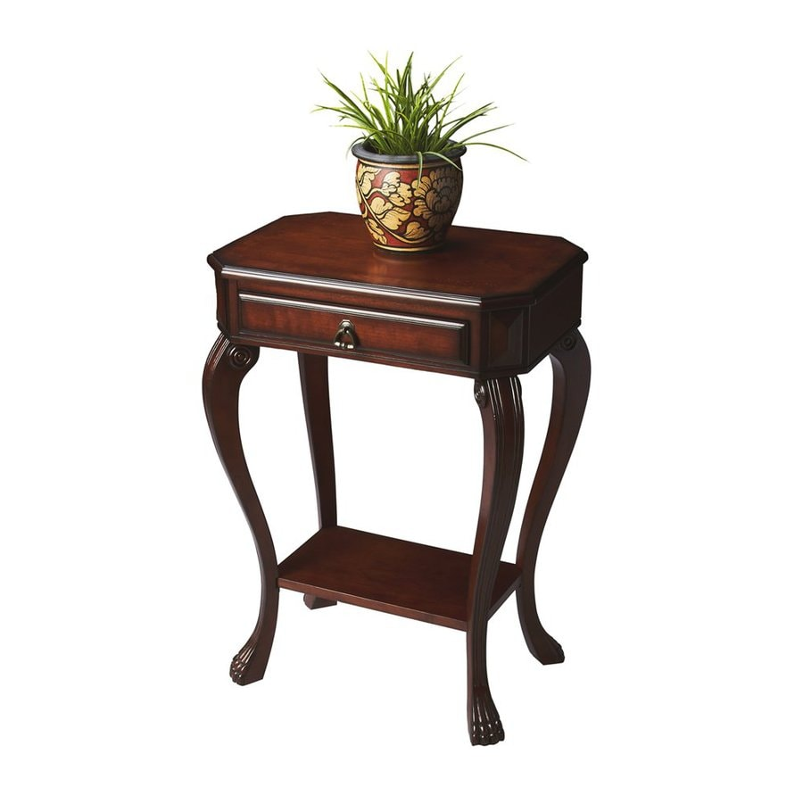 Butler Specialty Masterpiece Plantation Cherry Rectangular Console and Sofa Table