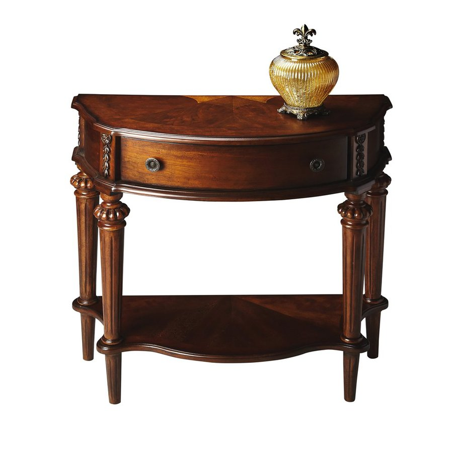 Butler Specialty Masterpiece Nutmeg Half-Round Console Table