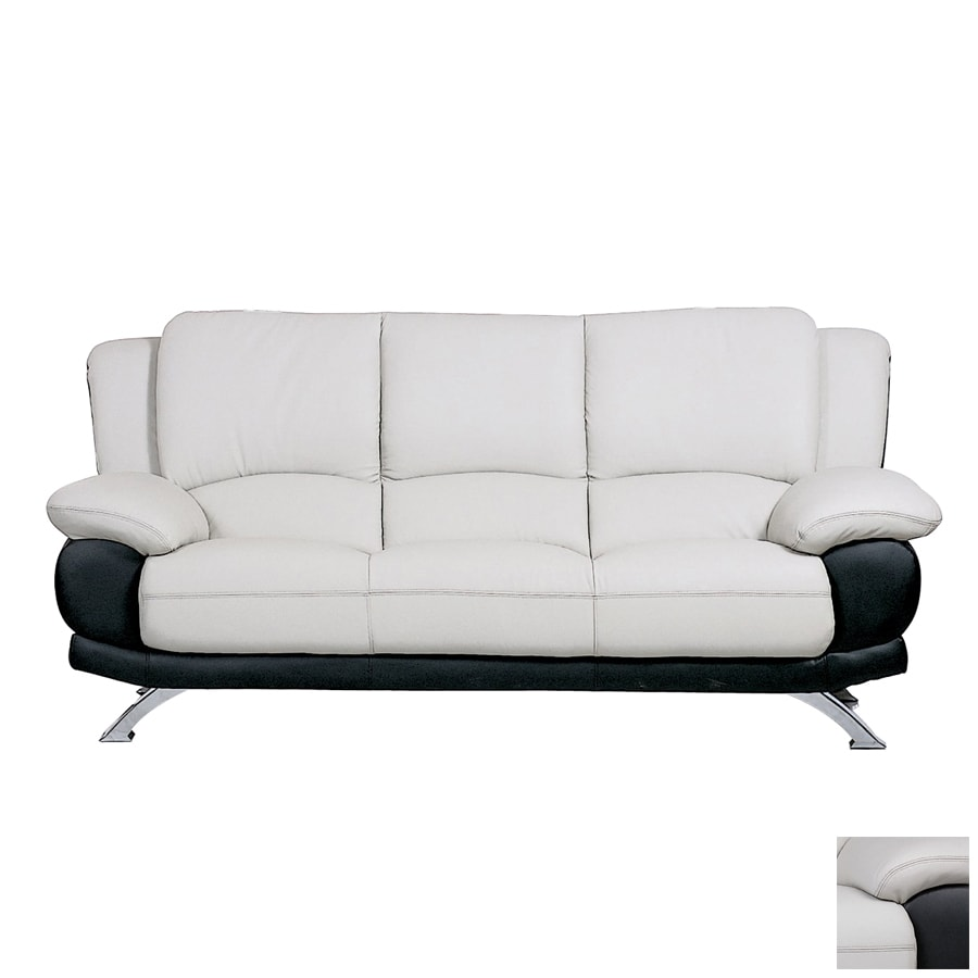 BH Design Leather Stationary Sofa