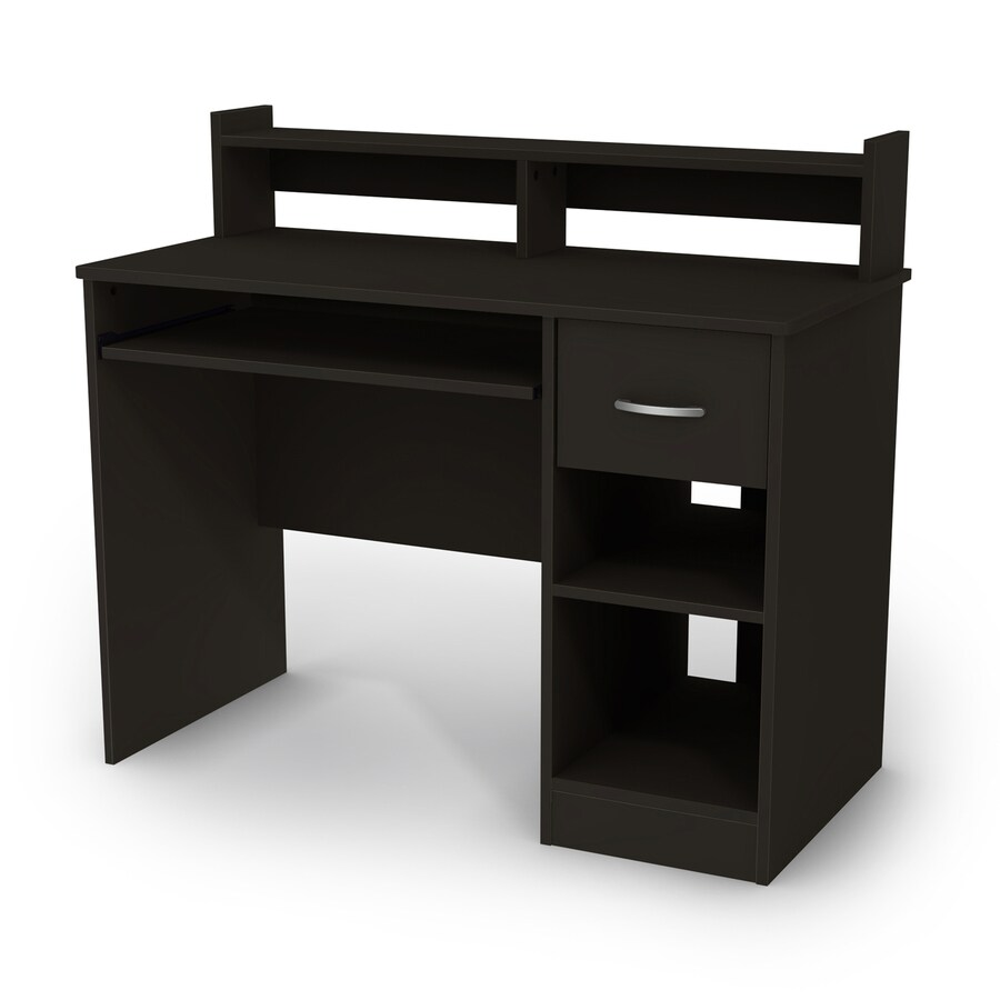 Superieur South Shore Furniture Axess Pure Black Computer Desk