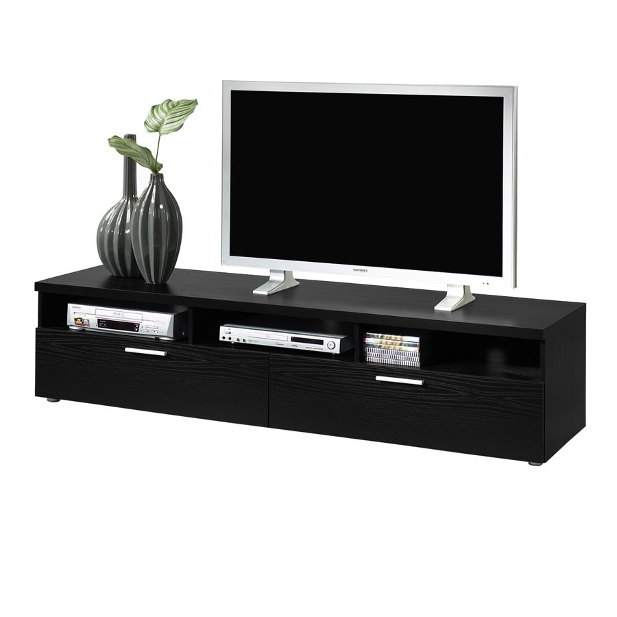 Tvilum Hayward Black Rectangular TV Cabinet