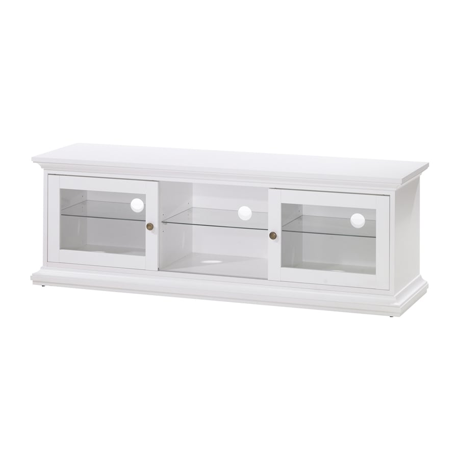 Shop Tvilum Sonoma White Rectangular Television Cabinet at ...