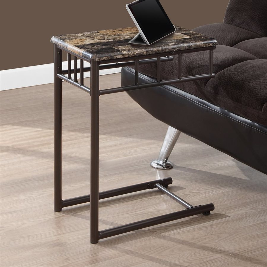 Monarch Specialties Bronze Rectangular Coffee Table