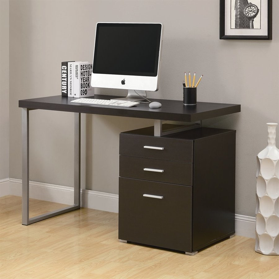 Monarch Specialties Cappuccino Computer Desk