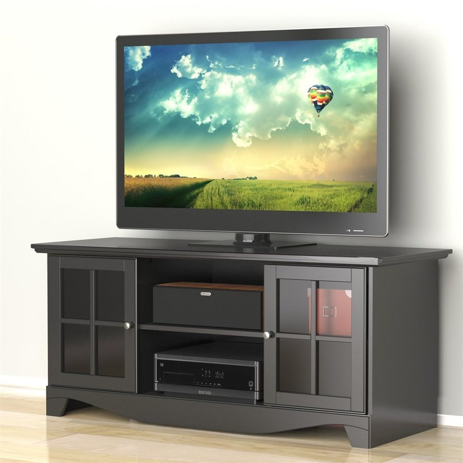 Nexera Pinnacle Matte Black TV Cabinet