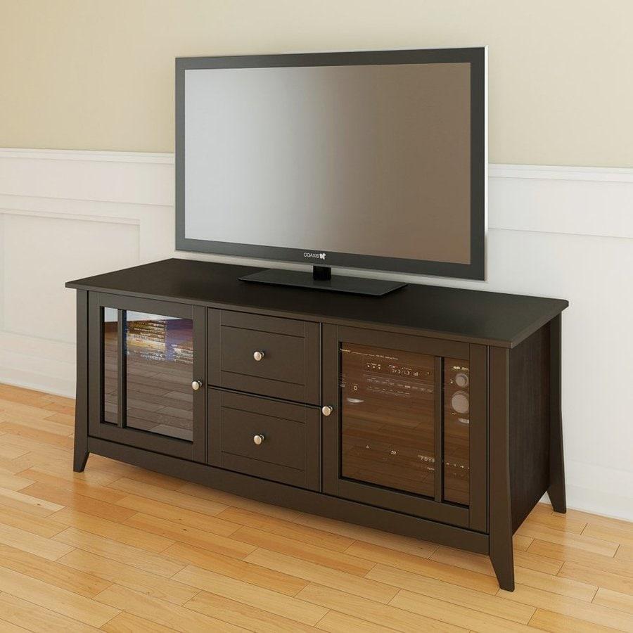 Nexera Elegance Espresso TV Cabinet