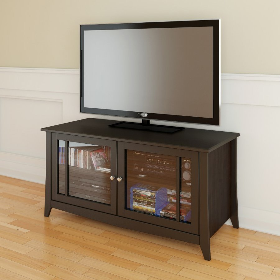 Nexera Elegance Espresso Rectangular TV Cabinet