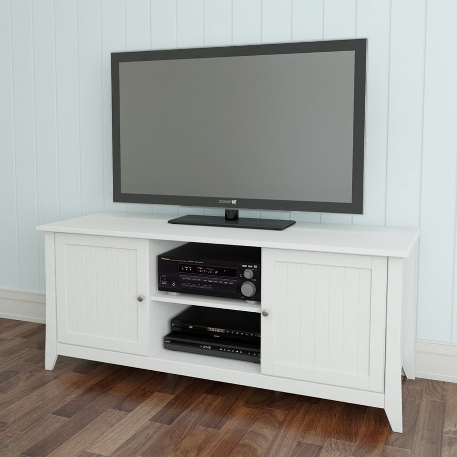 Nexera Vice Versa White Rectangular TV Cabinet
