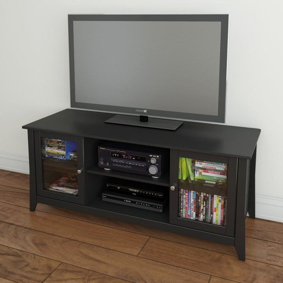 Nexera Tuxedo Black TV Cabinet