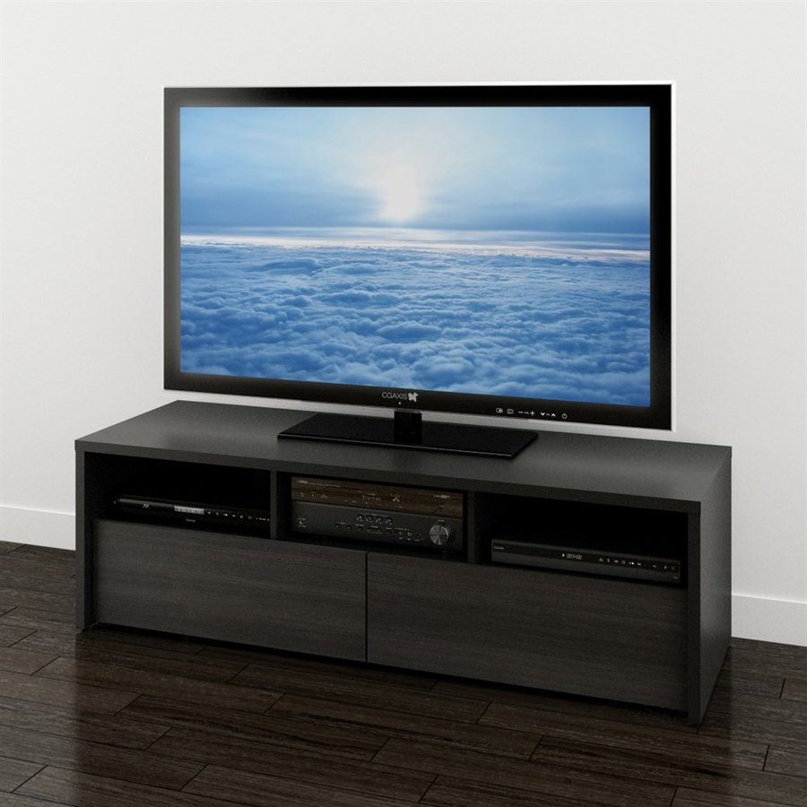 Nexera Sereni-T Black/Ebony TV Cabinet