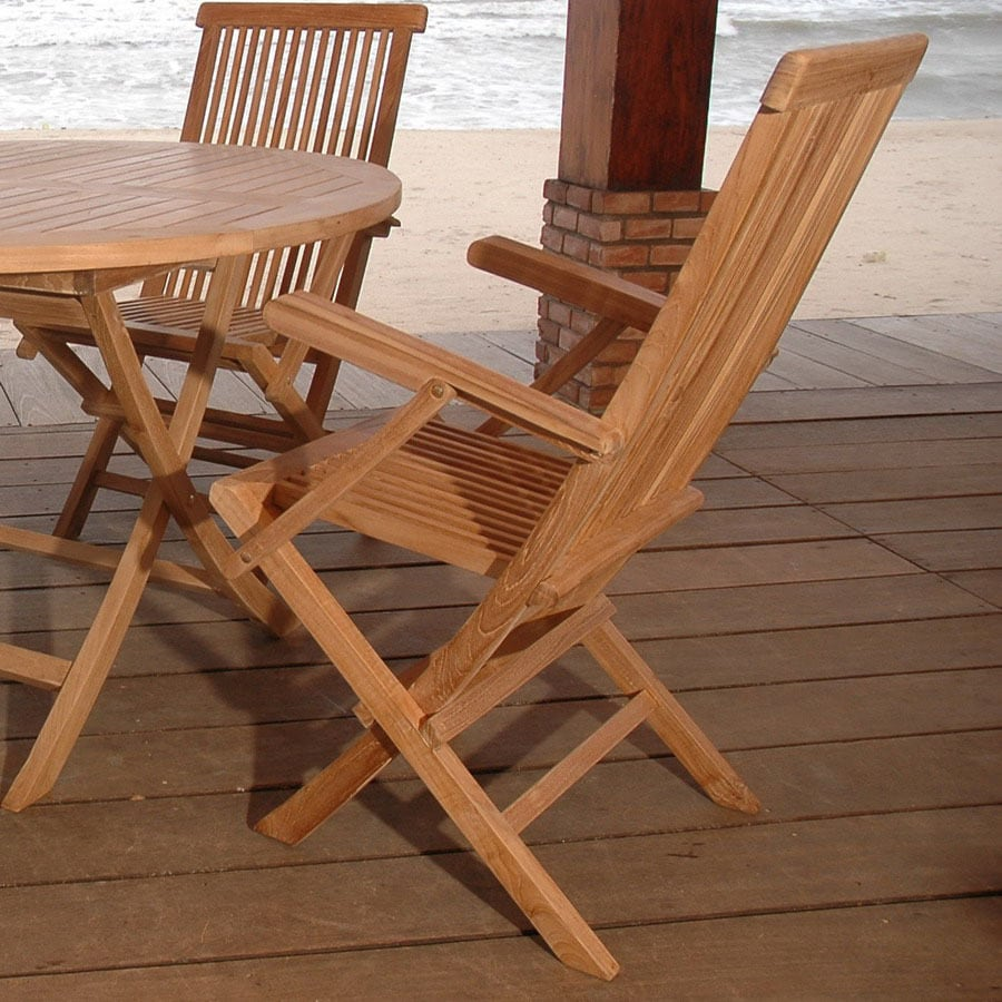 Anderson Teak Set of 2 Classic Arm Chairs