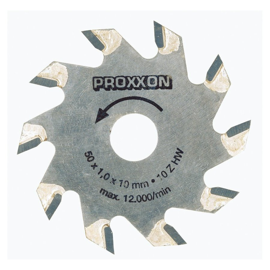 Proxxon 2-in 10-Tooth Turbo Circular Saw Blade