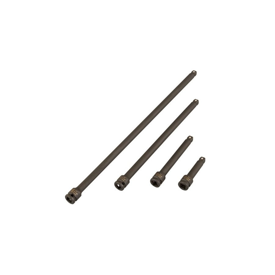 Sunex Tools 4-Piece 1/2-in Drive Wobble Socket Extensions