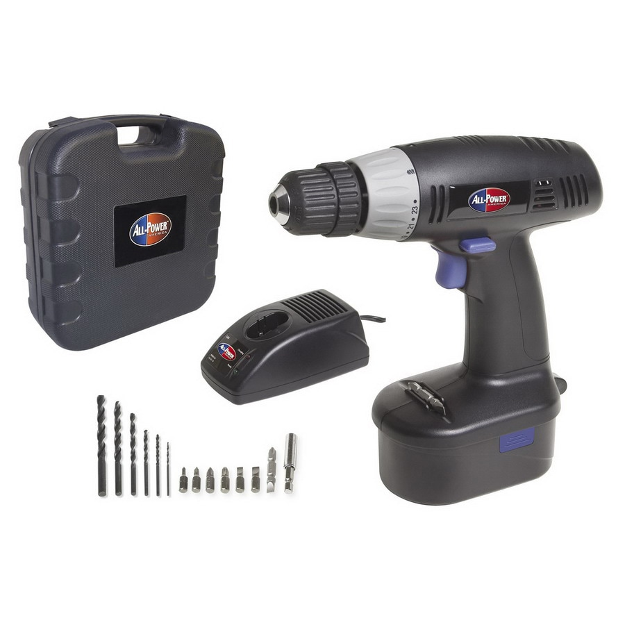 All-Power America 19.2-Volt 3/8-in Cordless Drill with Case