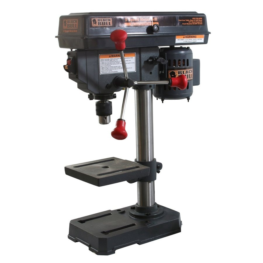 Buffalo Black Bull 2.5-Amp Bench Drill Press