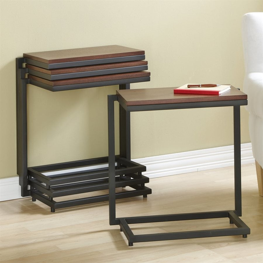 Tag Furnishings Group Stacking C's Safari Rectangular End Table