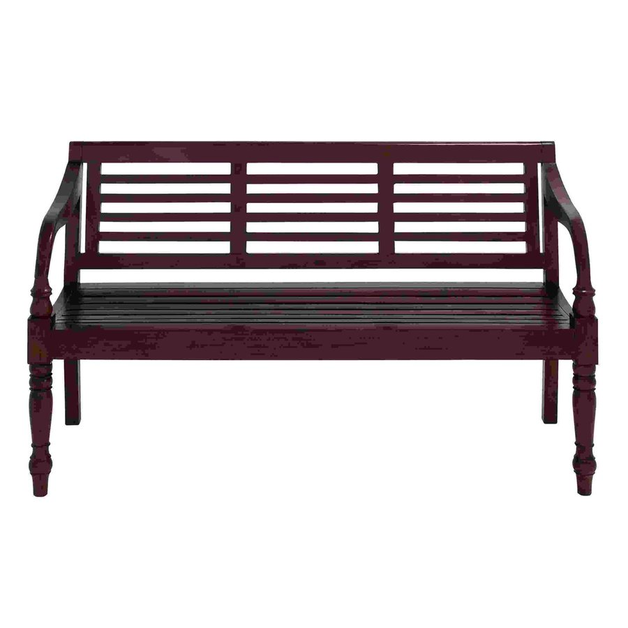 Shop Woodland Imports Elegant Rich Brown Accent Bench At