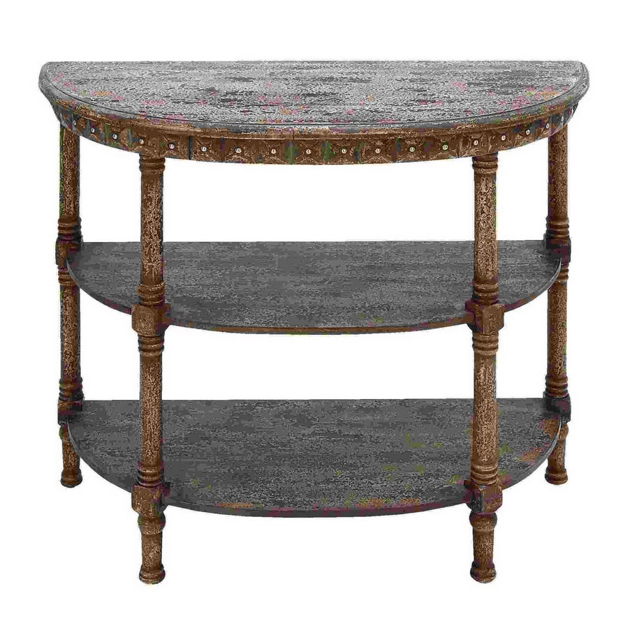 Woodland Imports Half Round Console And Sofa Table