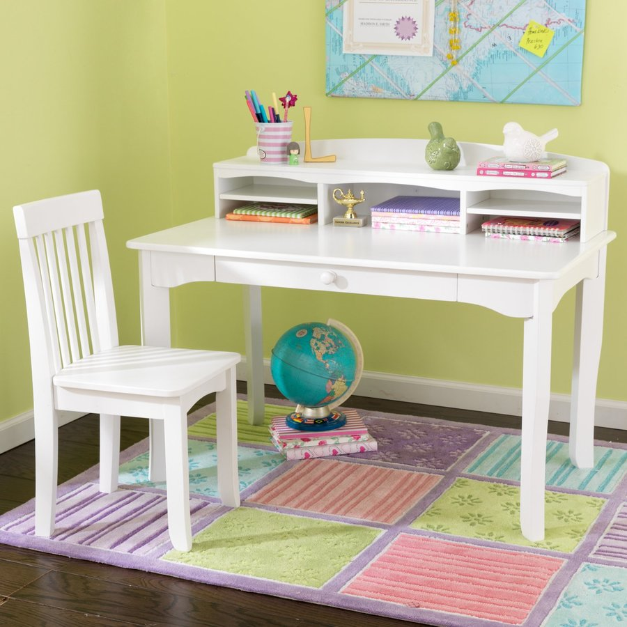Shop Kidkraft Avalon Transitional White Writing Desk At