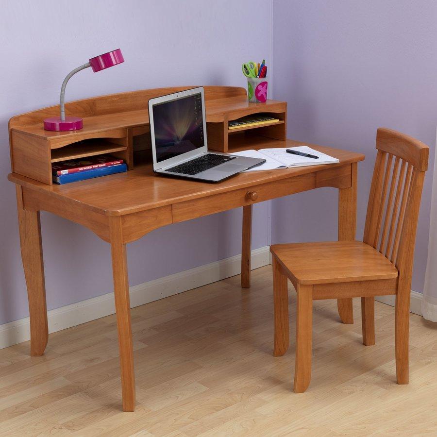 KidKraft Avalon Transitional Honey Writing Desk