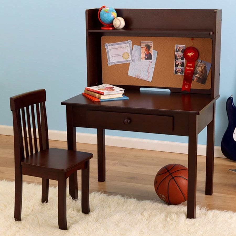 KidKraft Transitional Espresso Computer Desk
