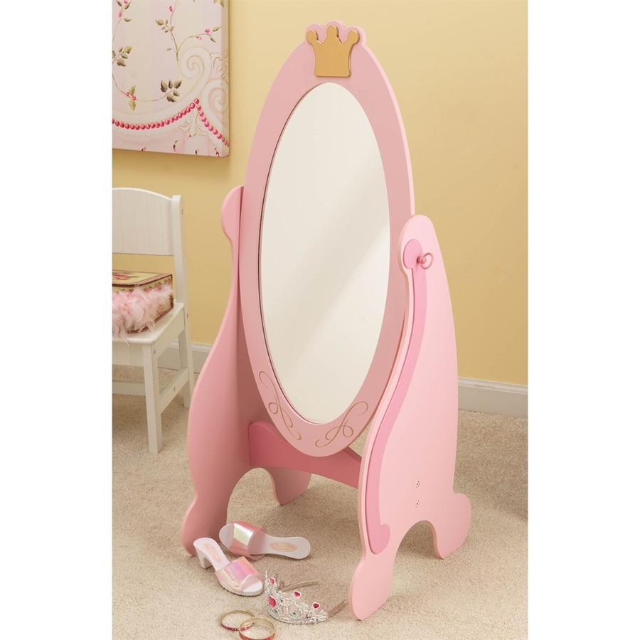 KidKraft Princess Cheval Oval Floor Mirror