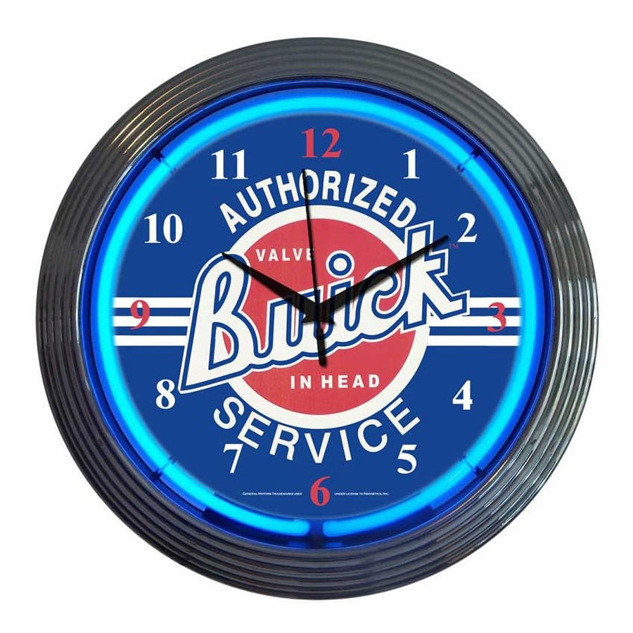 Neonetics Buick Analog Round Indoor Wall Clock