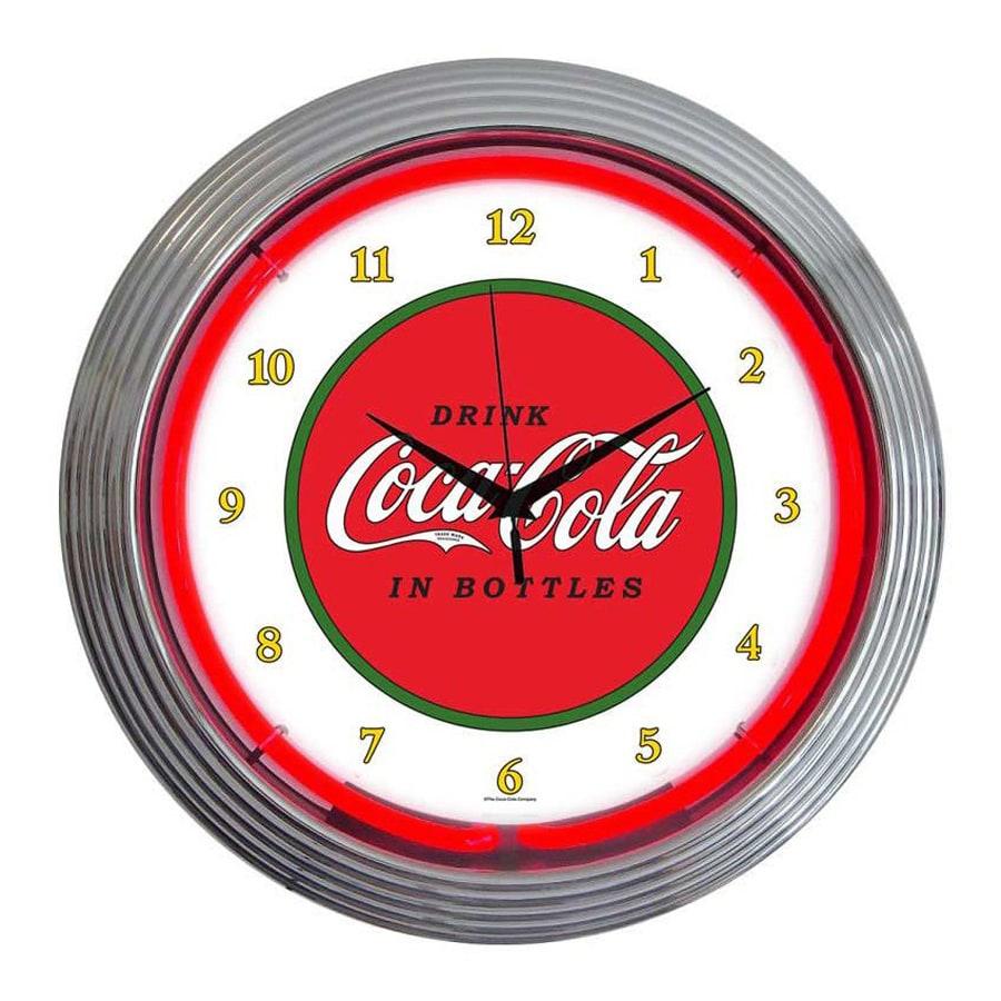 Neonetics Coca-Cola Classic Analog Round Indoor Wall Clock