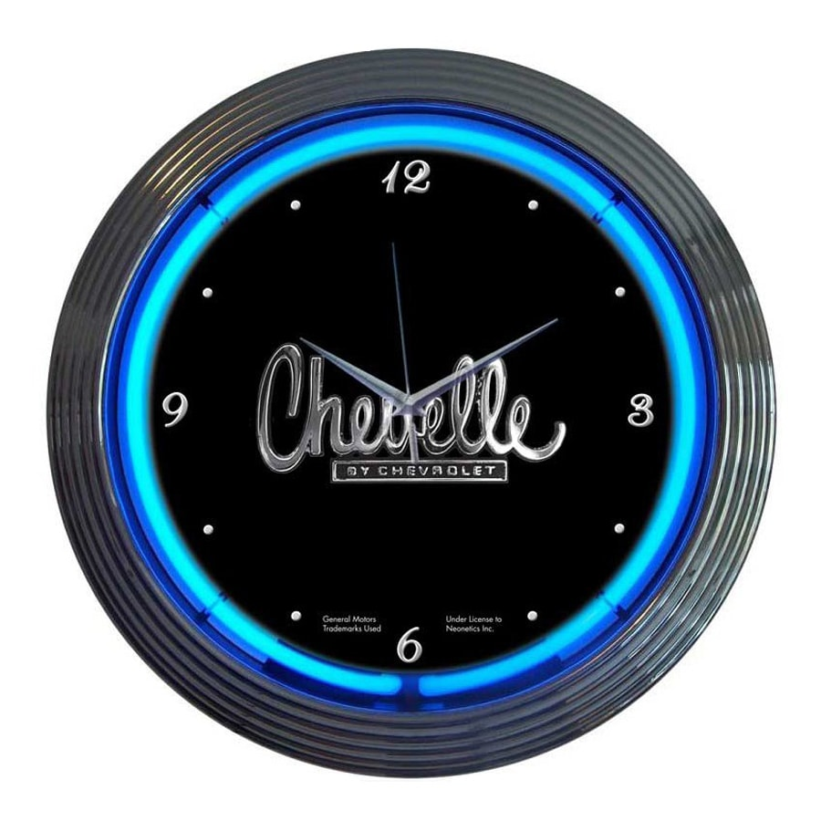 Neonetics Chevelle By Chevrolet Analog Round Indoor Wall Clock