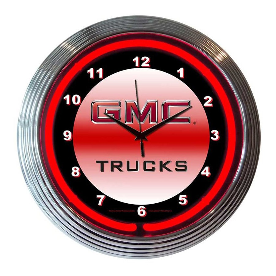 Neonetics Gmc Trucks Analog Round Indoor Wall Clock
