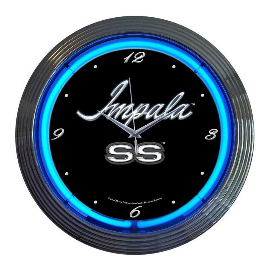 Neonetics Impala Analog Round Indoor Wall Clock