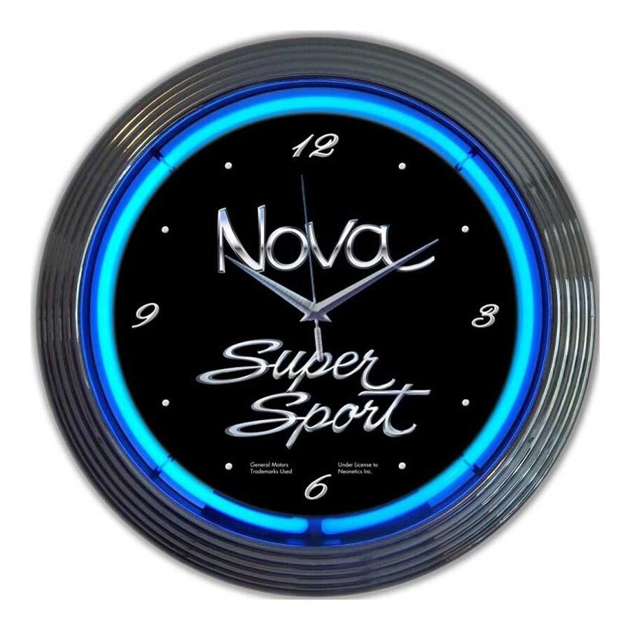 Neonetics Chevy Nova Analog Round Indoor Wall Clock