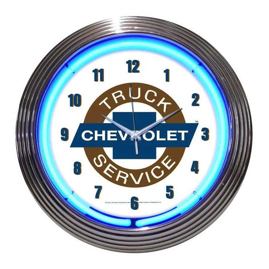 Neonetics Chevy Truck Service Analog Round Indoor Wall Clock
