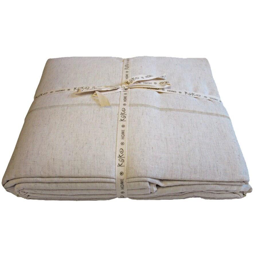 KOKO Company Natura Beige and Natural King Cotton
