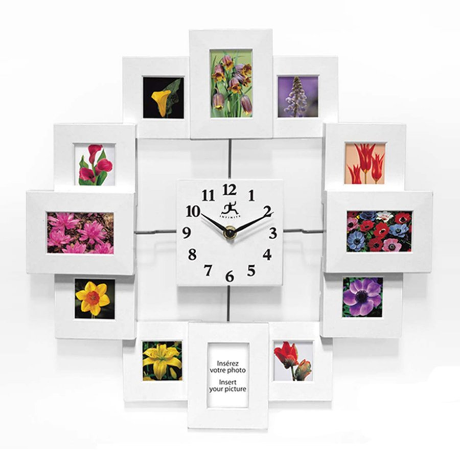 Shop infinity instruments standardarabic numeral time capsule infinity instruments standardarabic numeral time capsule picture frame wall clock jeuxipadfo Image collections