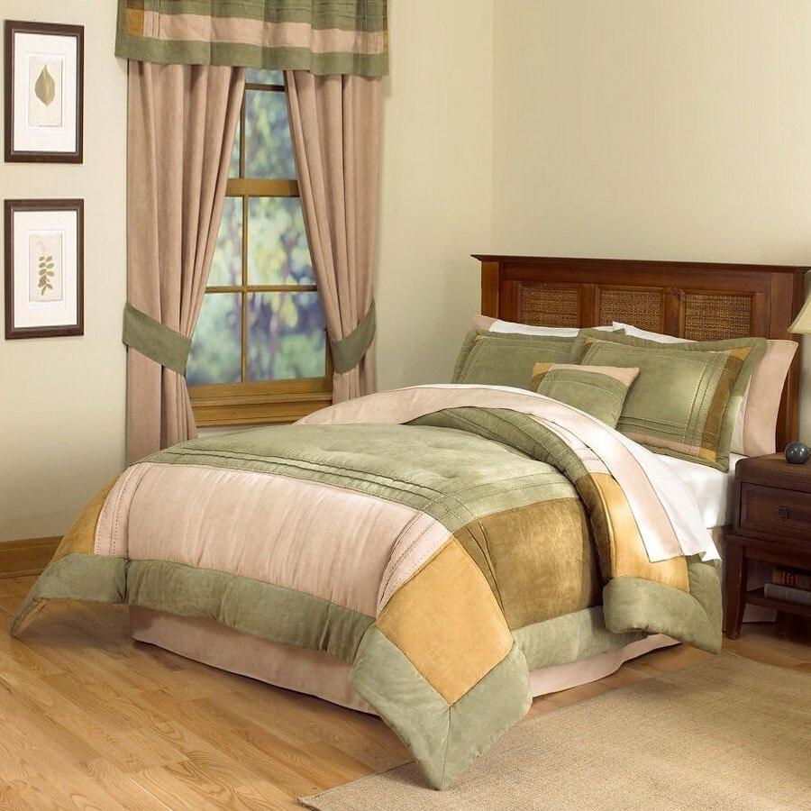 PEM America Outlet Chesterfield 8-Piece Multicolor Queen Comforter Set