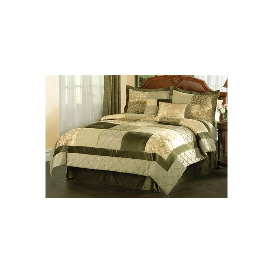 green home vcny full comforter dp com set rose amazon piece fur kitchen light
