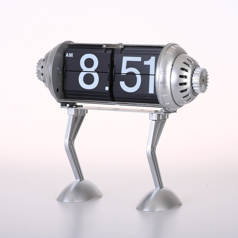 Maple's Robot Legs Digital Indoor Tabletop Clock