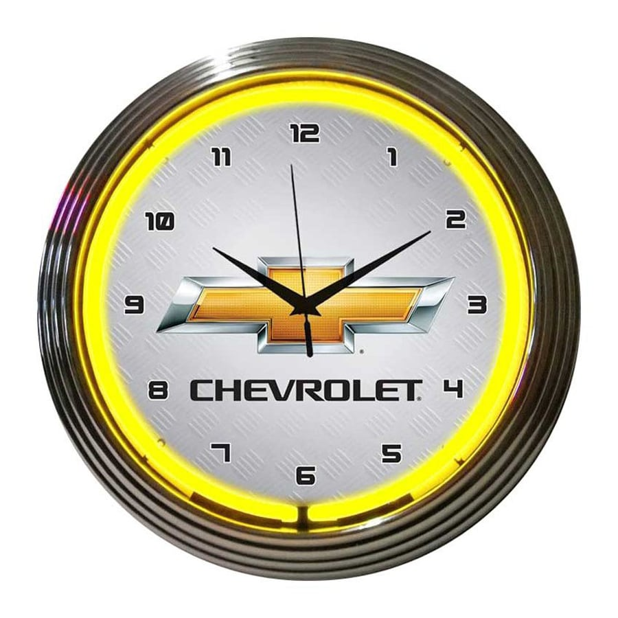 Neonetics Chevrolet Analog Round Indoor Wall Clock