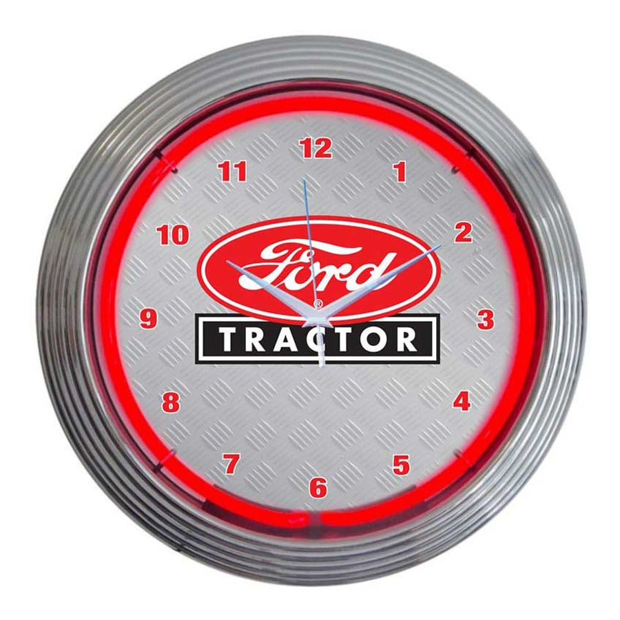 Neonetics Ford Tractor Analog Round Indoor Wall Clock